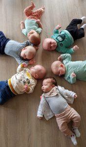baby's van deelnemers aan centering pregnancy