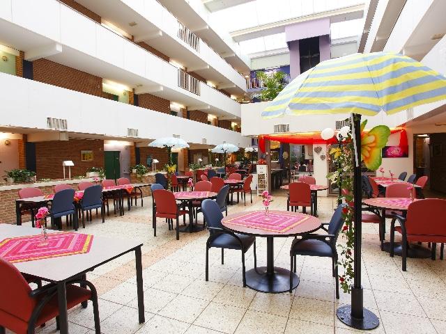Woonzorgcentrum Kiekendief, het restaurant binnen