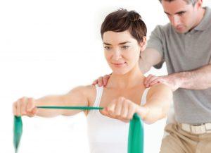 afspraak met een fysiotherapeut